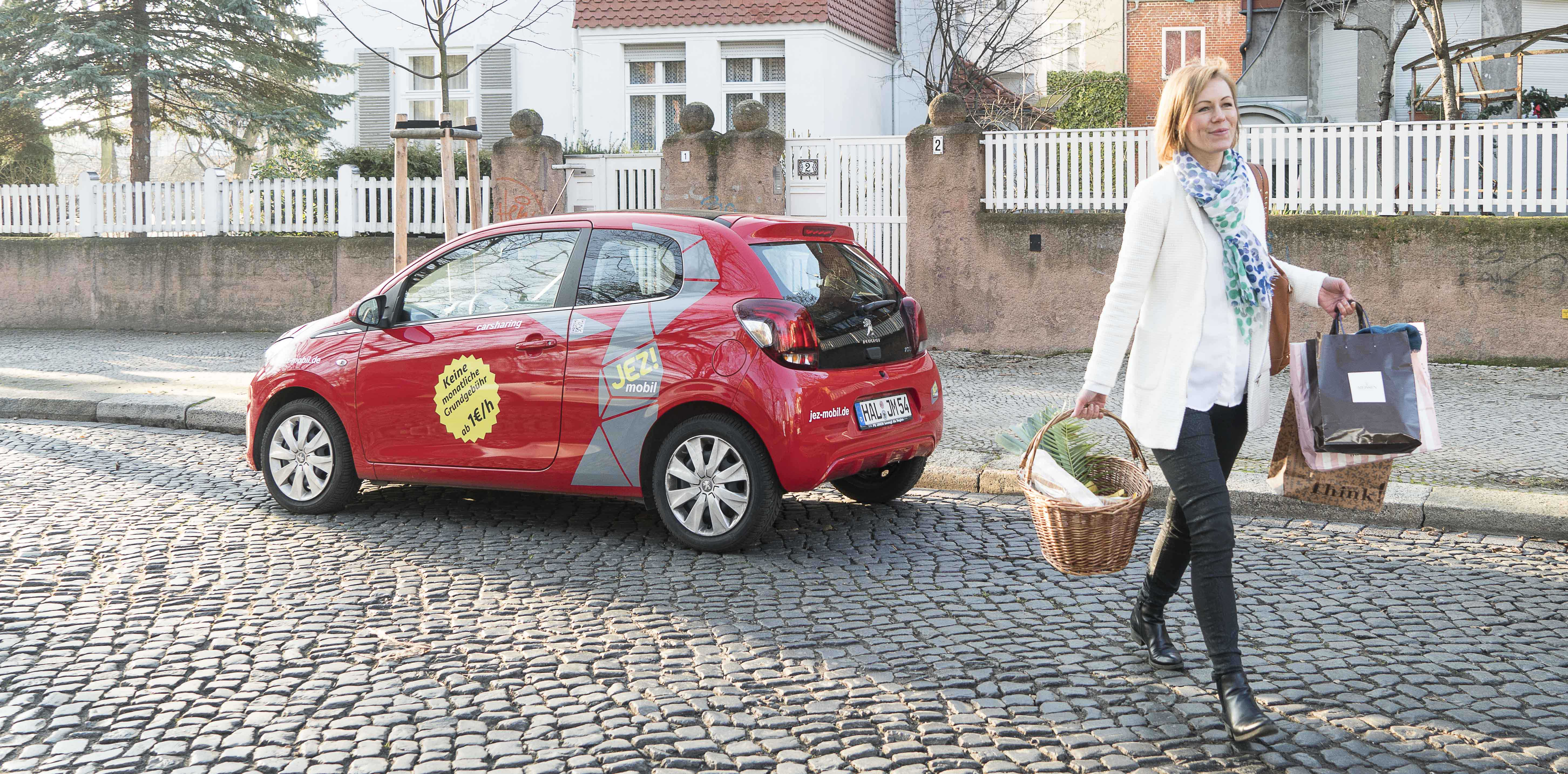JEZ! mobil Carsharing Faltblätter